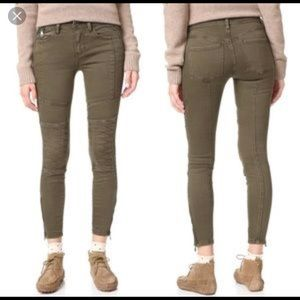 Free People Stretch Midnight Magic Moro Jeans